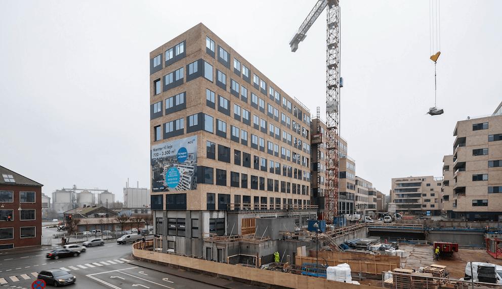 Aarhusiansk kontorhus solgt for 600 millioner kr. -
